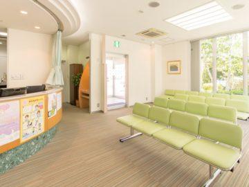 千葉県習志野市の三橋眼科医院 待合室