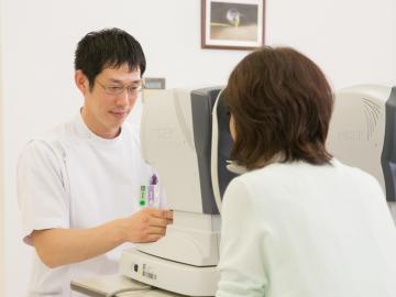 千葉県習志野市の三橋眼科医院 診察イメージ